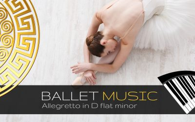 Allegretto in D flat minor – Piano Arrangement